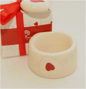 """Zuccheriera Ceramica 10 Cm Linea """"mandorle"""""""