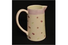 Caraffa Romantica Fiori Ceramica