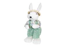 Coniglietta 13x17x35 Cm Decorazione Arredo Primavera/pasqua