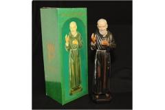 Statuina Immagine Religiosa Grande Dipinta A Mano
