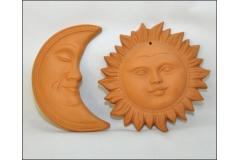 Sole O Luna In Cotto Piccoli
