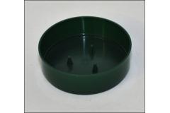 12 Ciotola Olympia Verde Diametro 10 Cm