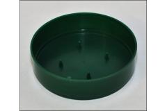 12 Ciotola Olympia Verde Diametro 15 Cm