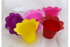 20 Copri Vaso Colorato Diametro 14 Cm