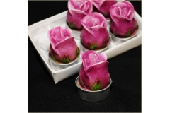 6 Candele Tealight Rose