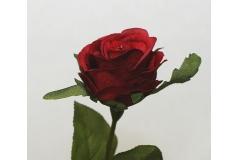 Bocciolo Rosa Dali 50 cm fiore artificiale