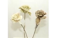 Rosa Fiorita Winter Invernale Da 48 Cm