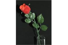 Bocciolo Rosa Vellutato 58 Cm