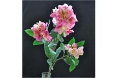 Rododendro Diva In Seta 85 Cm