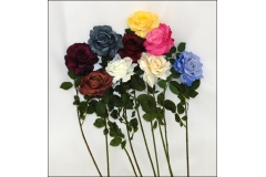 Rosa Giorgia In Seta Steli Modellabili 75 Cm