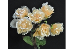 Bouquet Rose Organza 30 Cm