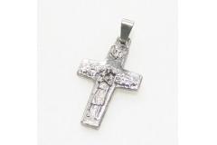 5 Ciondoli A Croce Papa 2.5 Cm