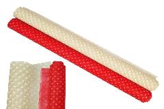 Bobine Heart Poliweb 0,68x9 Mt Confezionamento San Valentino