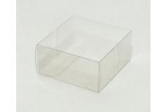10 Astucci Trasparenti 6x6x3 Cm