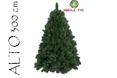 Albero Di Natale Pino Boston Cm 300 Tips 4200 Base Cm 220