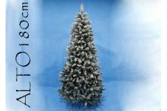 Albero Di Natale Monterey Innevato Cm 180