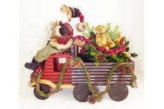 Babbo Natale Camion Con Regali