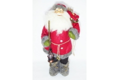 Babbo Natale Con Lanterna H. 60 Cm