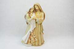 Nativita Sacra Famiglia Chiara Grande 21x16x37 Cm