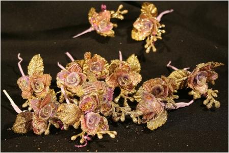 12 Fiori Chiudi Pacco Glitter