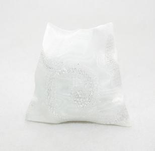 Sacchetto trasparenze Oro/argento