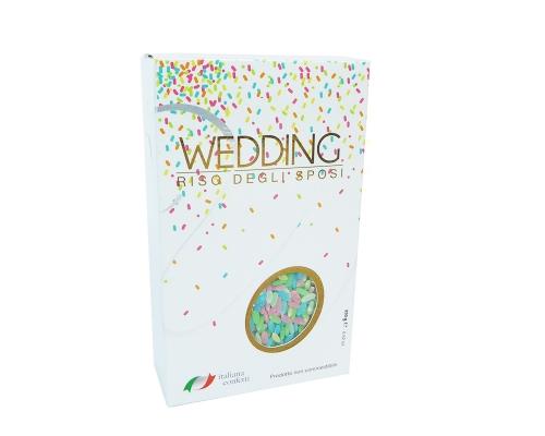 Riso Colorato Degli Sposi Da Matrimonio 250 Gr