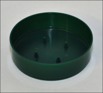 12 Ciotola Olympia Verde Diametro 13 Cm
