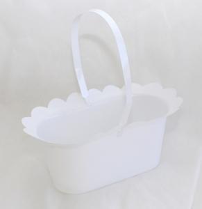 10 Copri Vaso Colorato Ovale Con Manico Alto 12,5 Cm