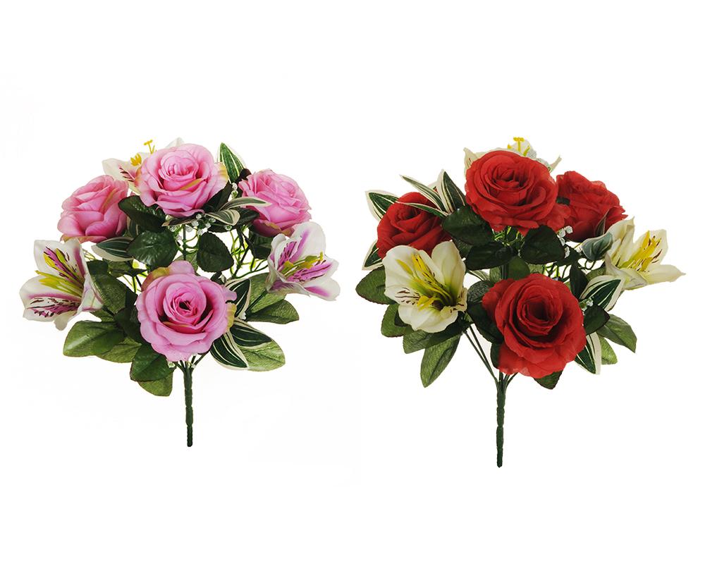 Busch Rose E Astromeria 7 Fior...