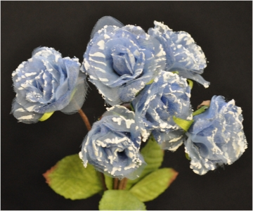Bouquet Rose Organza 30 Cm