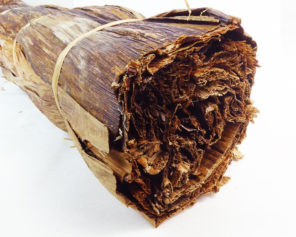 Corteccia Banano Bundle Cm 75 Naturale Composizione Decorativa