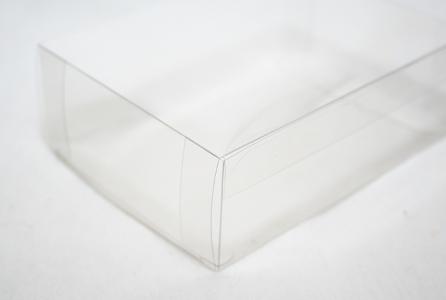 10 Astucci Trasparenti 12x9x4 Cm