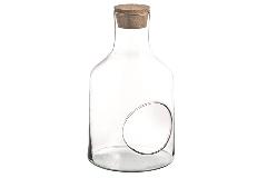 Bottiglia C/ Buco Tappo Sughero H. 35 D. 15