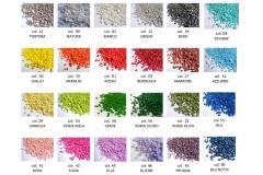 1kg Sabbia Granulare Colorata