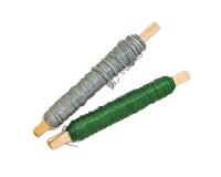 Spoletta in filo di alluminio zincato o verde 0,4/0,5 mm