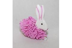 Deco Coniglio Piccolo Glitterato