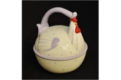 Scatola Gallo Ceramica