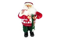 Babbo Natale Pet Cm 81