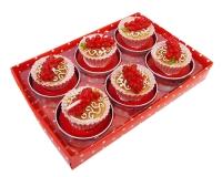 Candela Dolcetto Cupcake Con Ribes Cm 4 Pz 6
