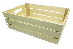 Cassetta Legno WHITEWASH Contenitori Per Decorazioni Naturale