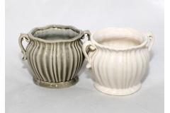 Orcetto In Ceramica Diametro 8/9.5 Cm Altezza 9 Cm