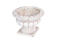 Coppa Antica Piccola D.15xH.12 Cm Vasi In Cemento Arredo