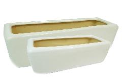 Vaschetta Glossy 2 Misure In Terracotta Smaltata