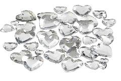 Pz 15 Cuore Strass Adesivo 14 Mm Accessori Decorativi Matrimonio