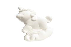 Pz 12 Gessetto Unicorno 4 Cm Bianco Per Bomboniere Fai Da Te Evento