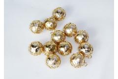 Perla Decorata Oro Pz 12