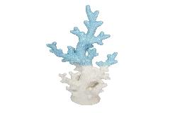 Corallo Ceramica Bicolore Cm 16 Decorazione Arredo Linea Mare Wedding