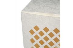 10 Scatole Pieghevole Traforata 8x8x18