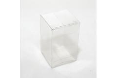 10 Astucci Trasparenti 8x5x5 Cm