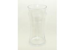 Vaso Classico In Vetro Trasparente Alto 30 Cm Diametro 14 Cm